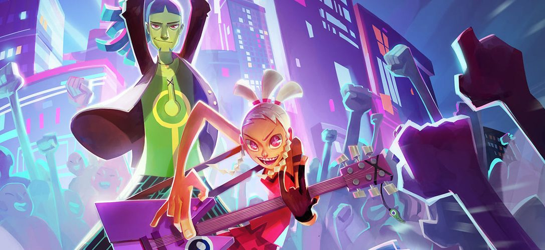 No Straight Roads brings music-based action to PS4 on 30th June