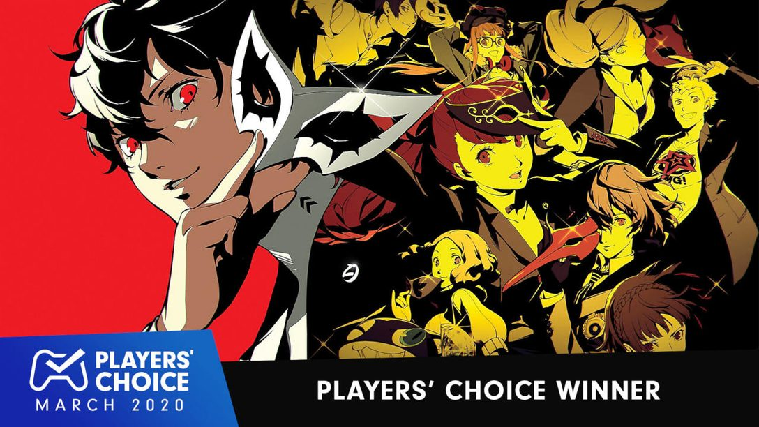 Players' Choice: Persona 5 Royal Voted March's Best New Game