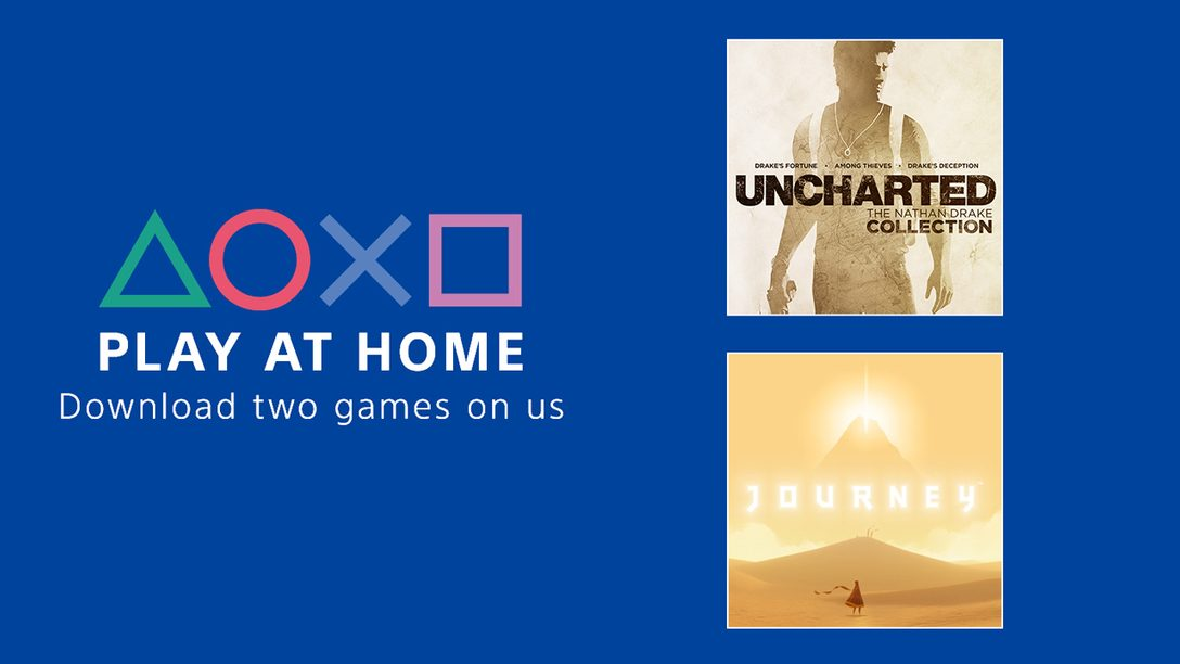 Announcing the Play At Home Initiative