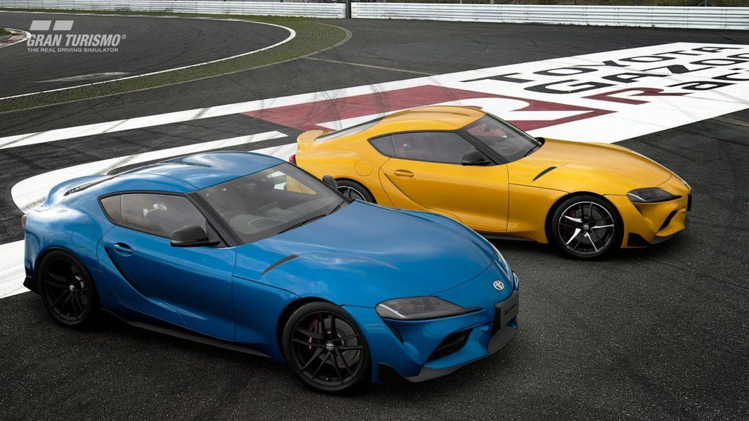 Gran Turismo Sport Adds 2020 Toyota GR Supra RZ (N300)