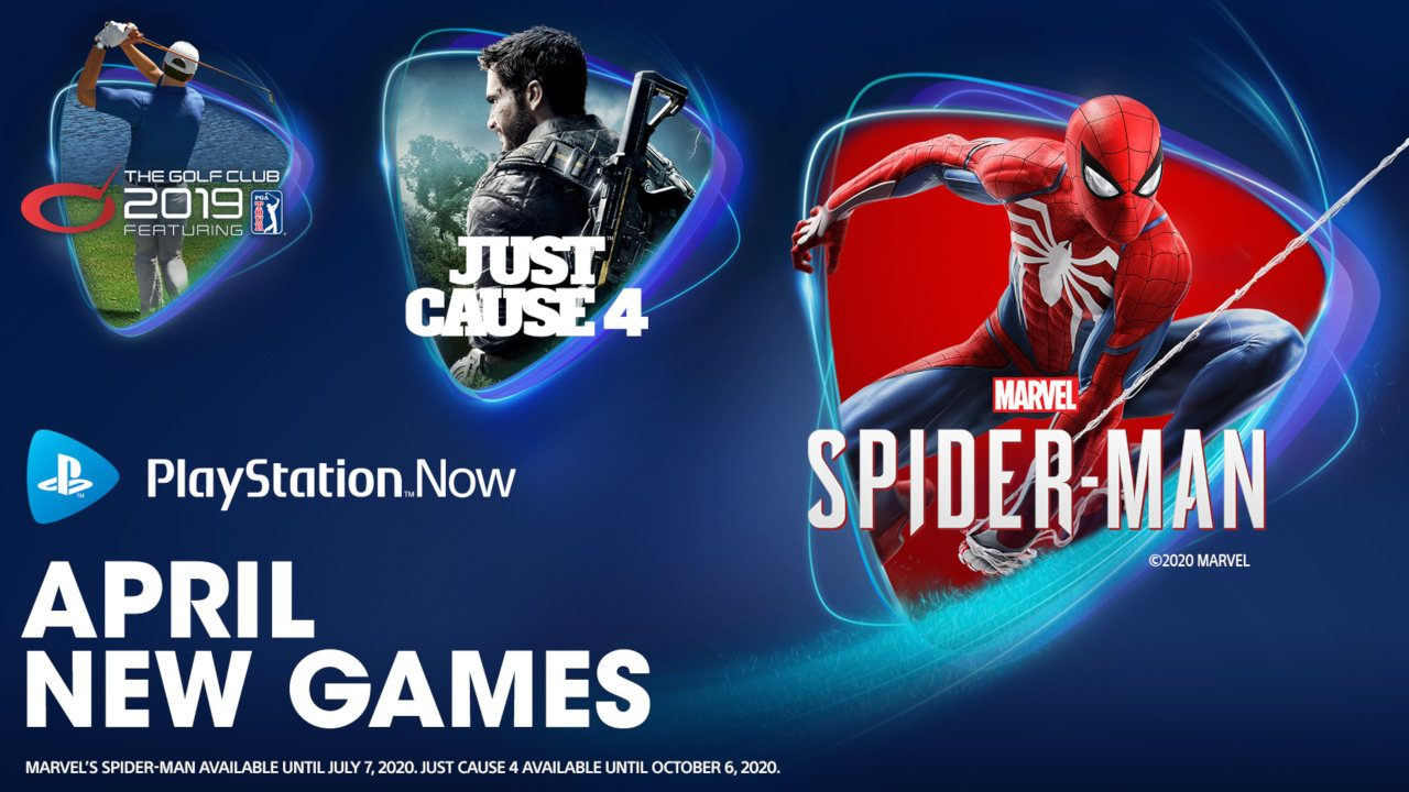 Marvel's Spider-Man, Just Cause 4 and The Golf Club 2019 Join PS Now in  April – PlayStation.Blog