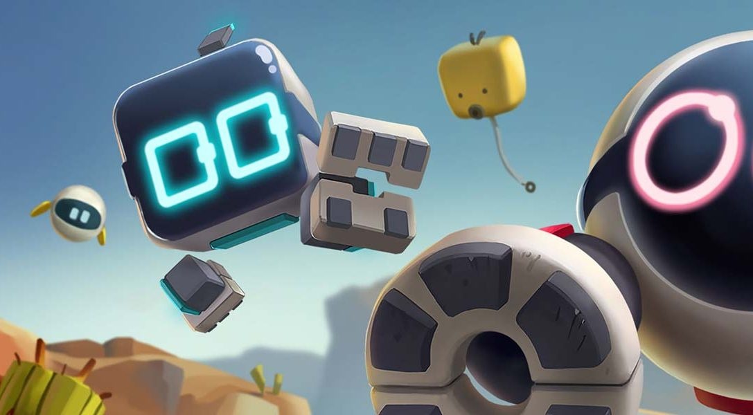 Robotic co-op adventure Biped comes to PS4 on 8th April