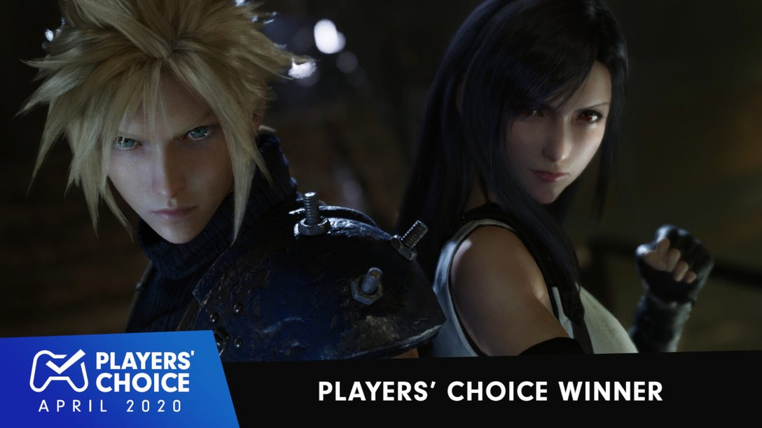Players' Choice: Final Fantasy VII Remake Voted April's Best New Game
