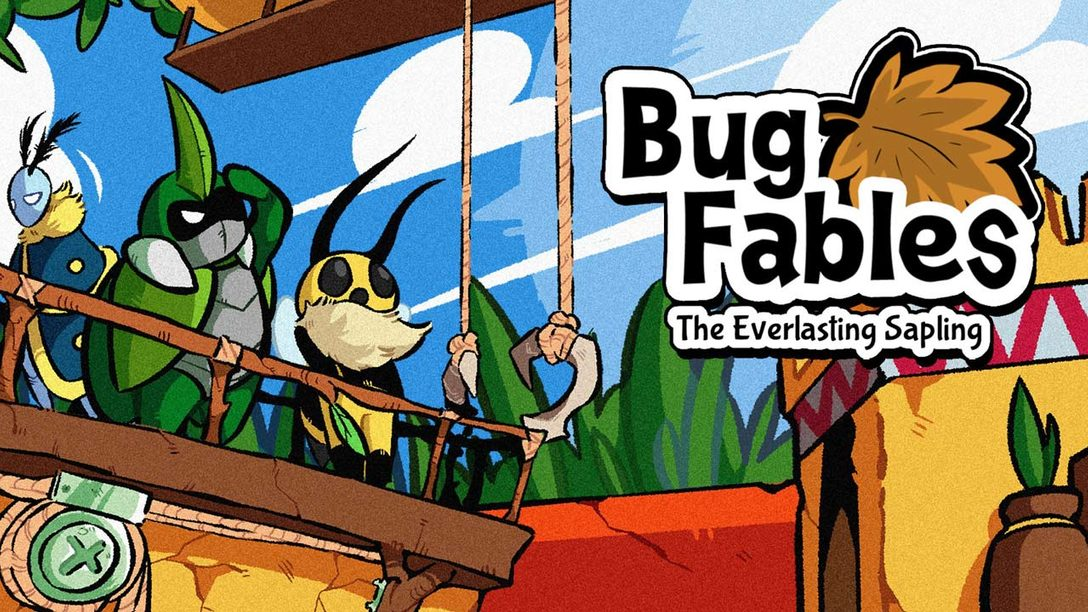 Three tiny heroes go on a big adventure in Bug Fables: The Everlasting Sapling