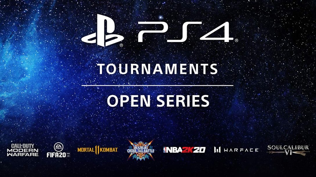 Competition continues with PS4 Tournaments: Open Series