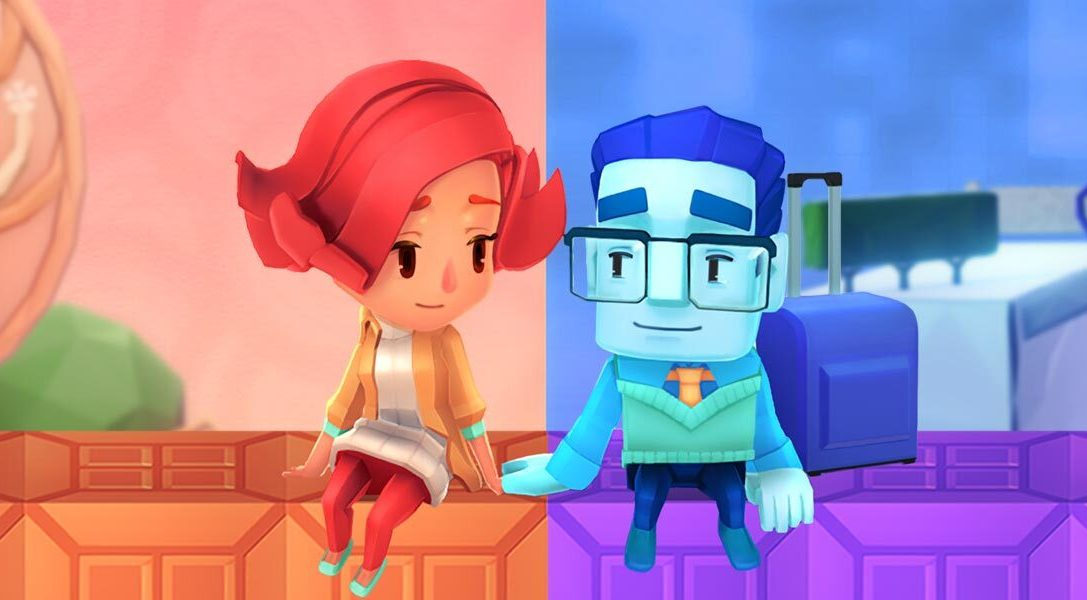 PS4 puzzler A Fold Apart explores long-distance relationships in a folding paper world