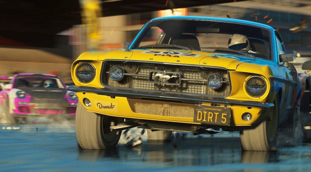 DIRT 5 announced, first gameplay details revealed