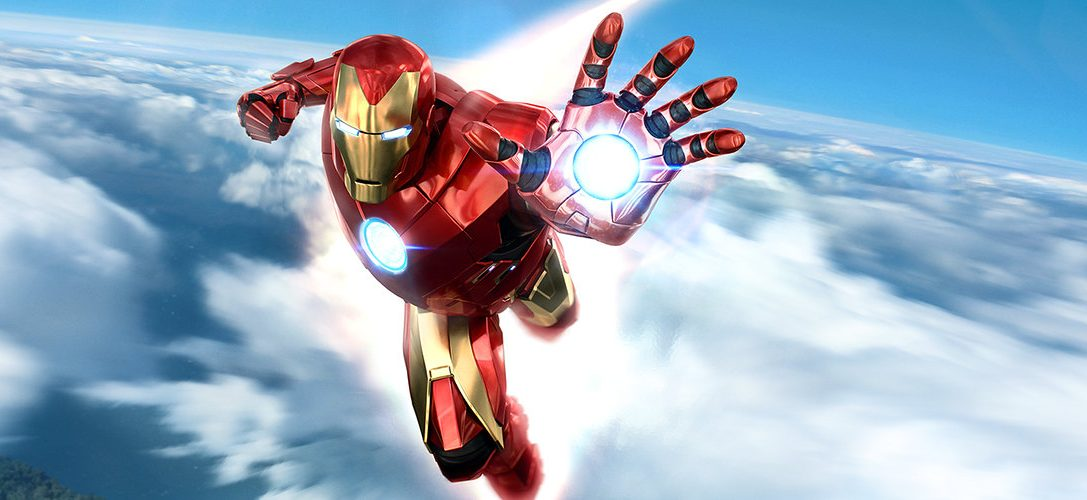 Suit up as the Armored Avenger with the PlayStation Move Controller Marvel's Iron Man VR Bundle, plus download a free demo today