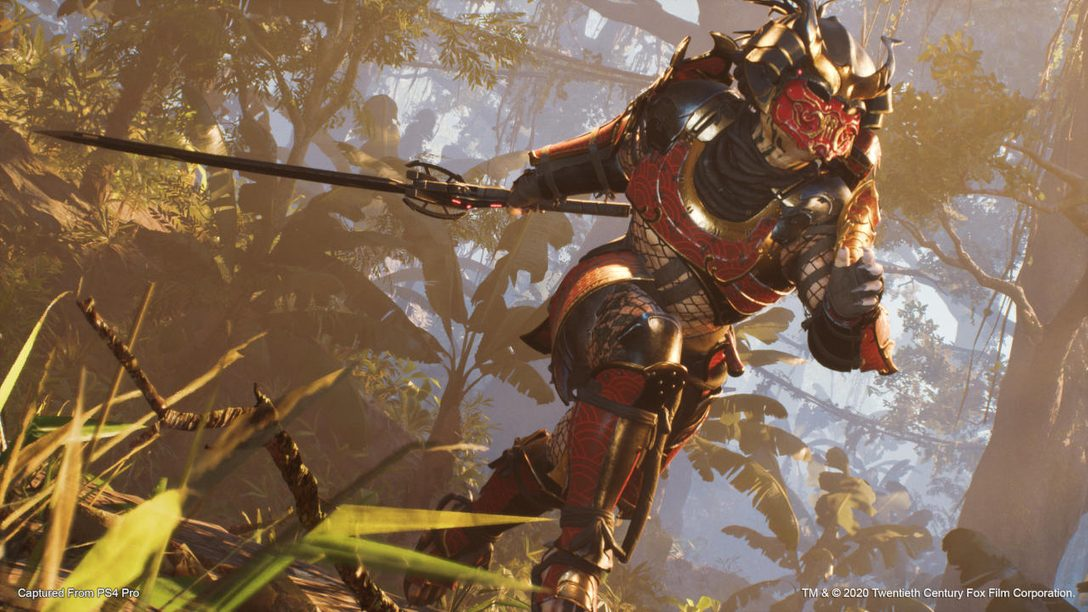The Samurai Predator arrives in Predator: Hunting Grounds