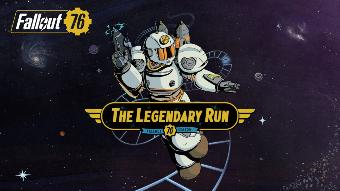 Fallout 76 – The Legendary Run is on