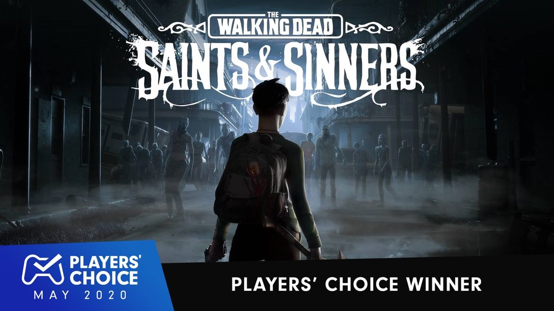 Players' Choice: The Walking Dead: Saints & Sinners voted May's best new game