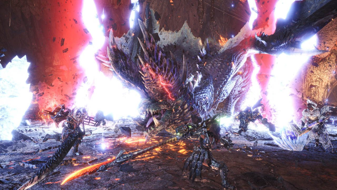 Alatreon brings a storm of elements to Monster Hunter World: Iceborne July 9