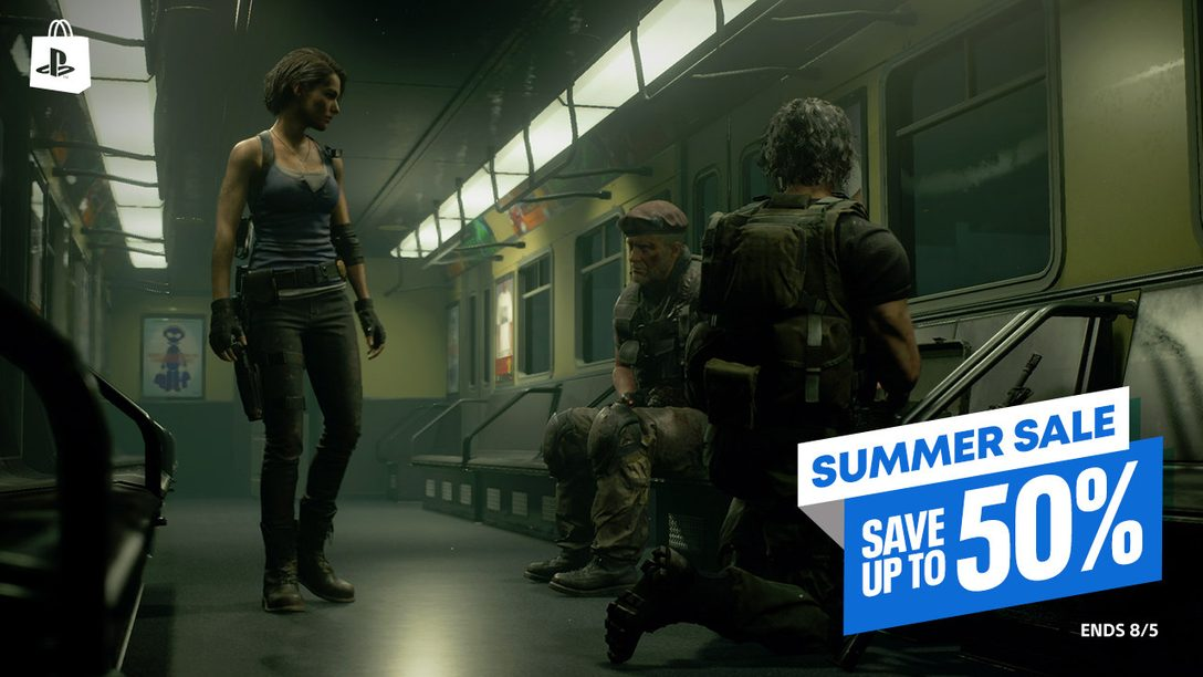 The Summer Sale promotion begins today on PlayStation Store