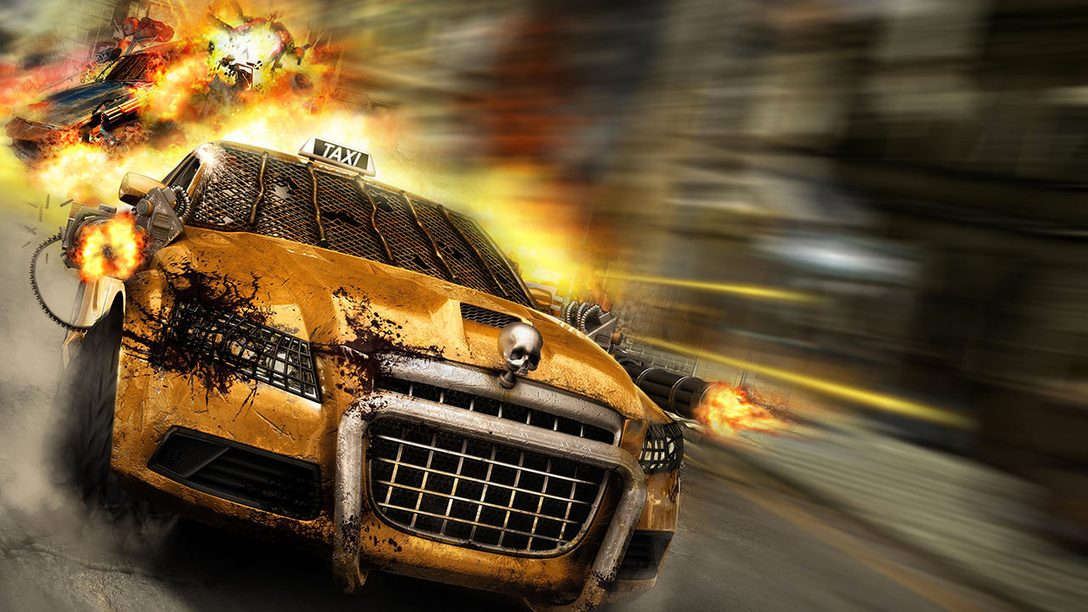 Zombie Driver: Immortal Edition launches today on PS4