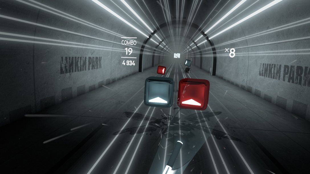 Beat Saber launches Linkin Park Music Pack today