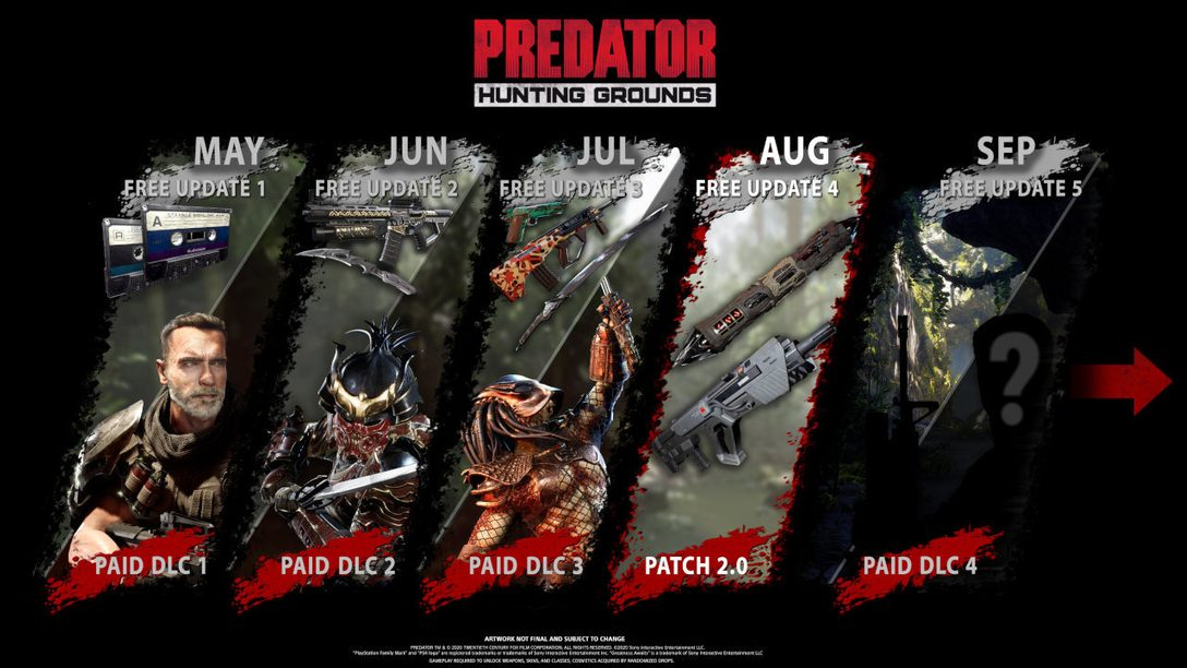 Predator: Hunting Grounds August update