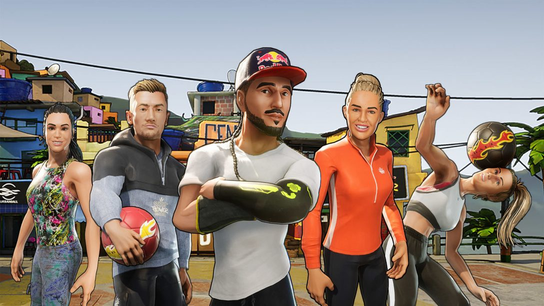 Street Power Soccer brings arcade-style sports to PS4 tomorrow