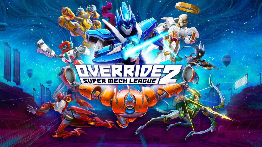 Override 2: Super Mech League announced for PS5 and PS4