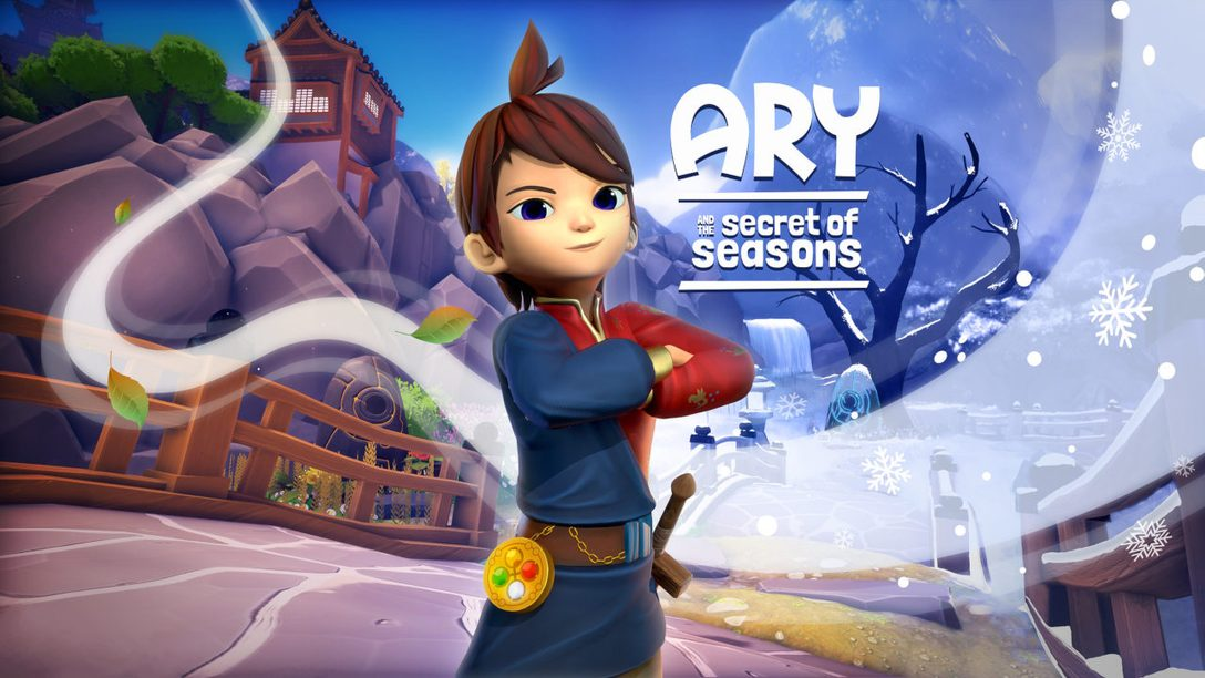 Control spring, summer, autumn, and winter in Ary and the Secret of Seasons, out tomorrow