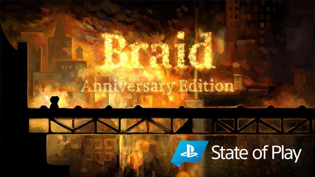 Announcing Braid, Anniversary Edition for PS4 and PS5