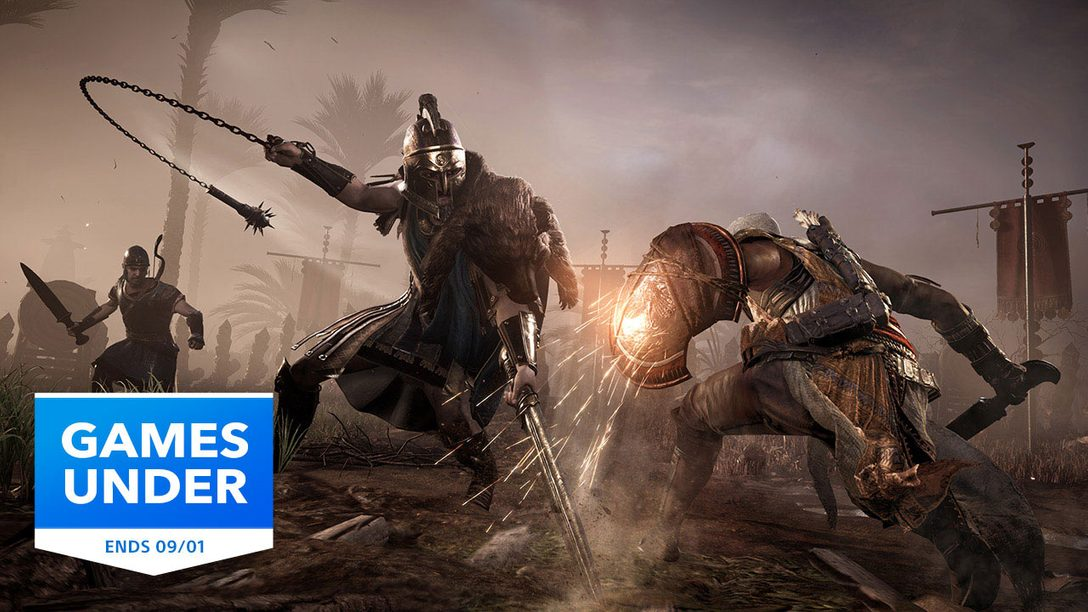 Games Under promotion returns to PlayStation Store