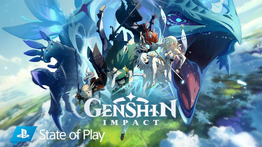 Genshin Impact hits PS4 this fall