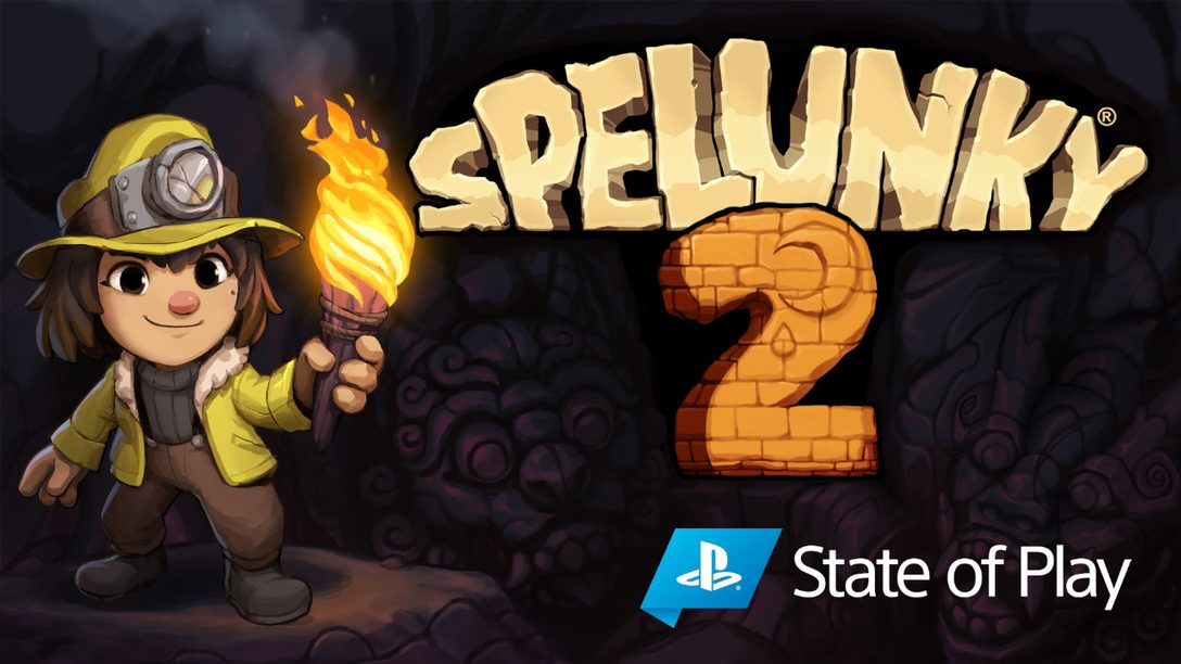 Spelunky 2 launches on PS4 September 15