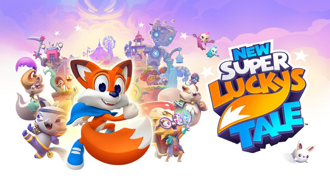 Jump into adventure in New Super Lucky's Tale, out tomorrow