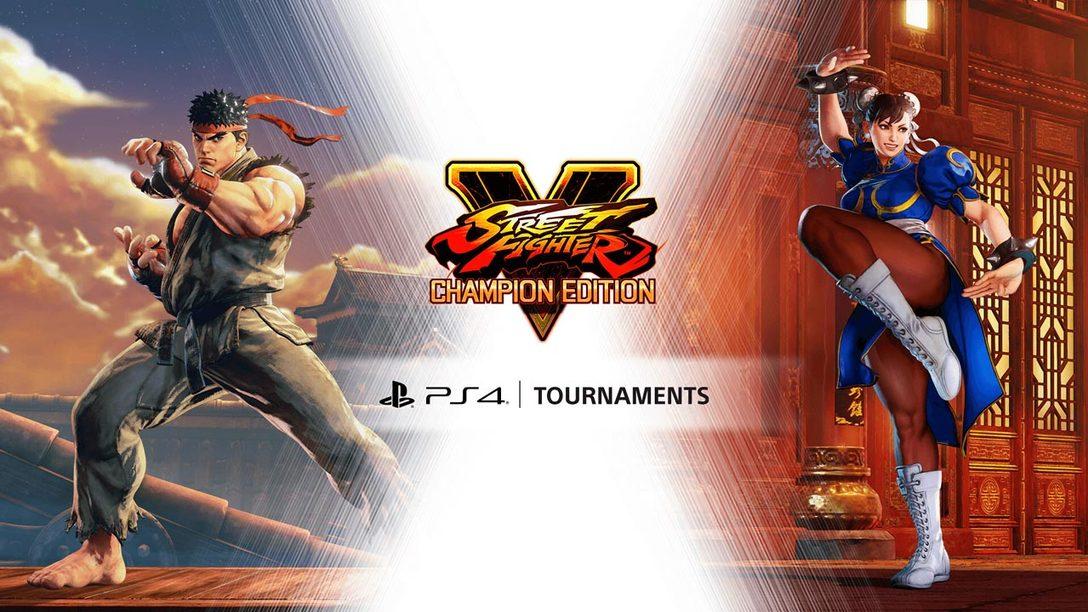 Street Fighter V PS4 Tournaments Arriving September 4
