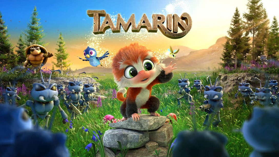 Leap into the 3D-platforming world of Tamarin, out today on PS4