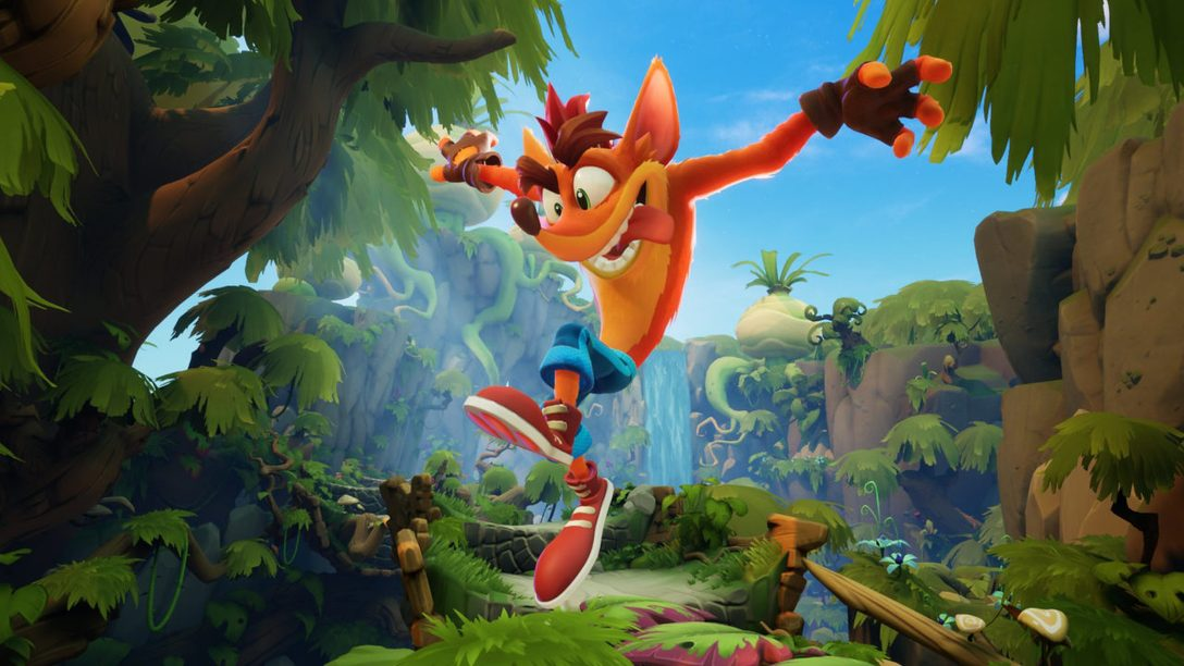 Crash Bandicoot 4: It's About Time Demo spins to PS Store today