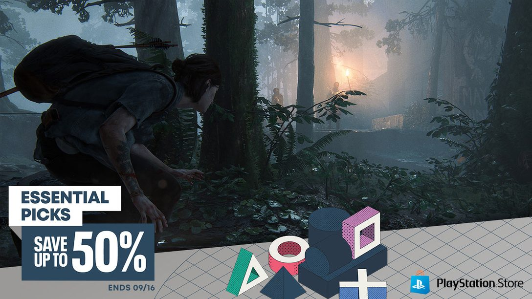 The Last of Us Part II headlines PlayStation Store's Essential Picks promotion