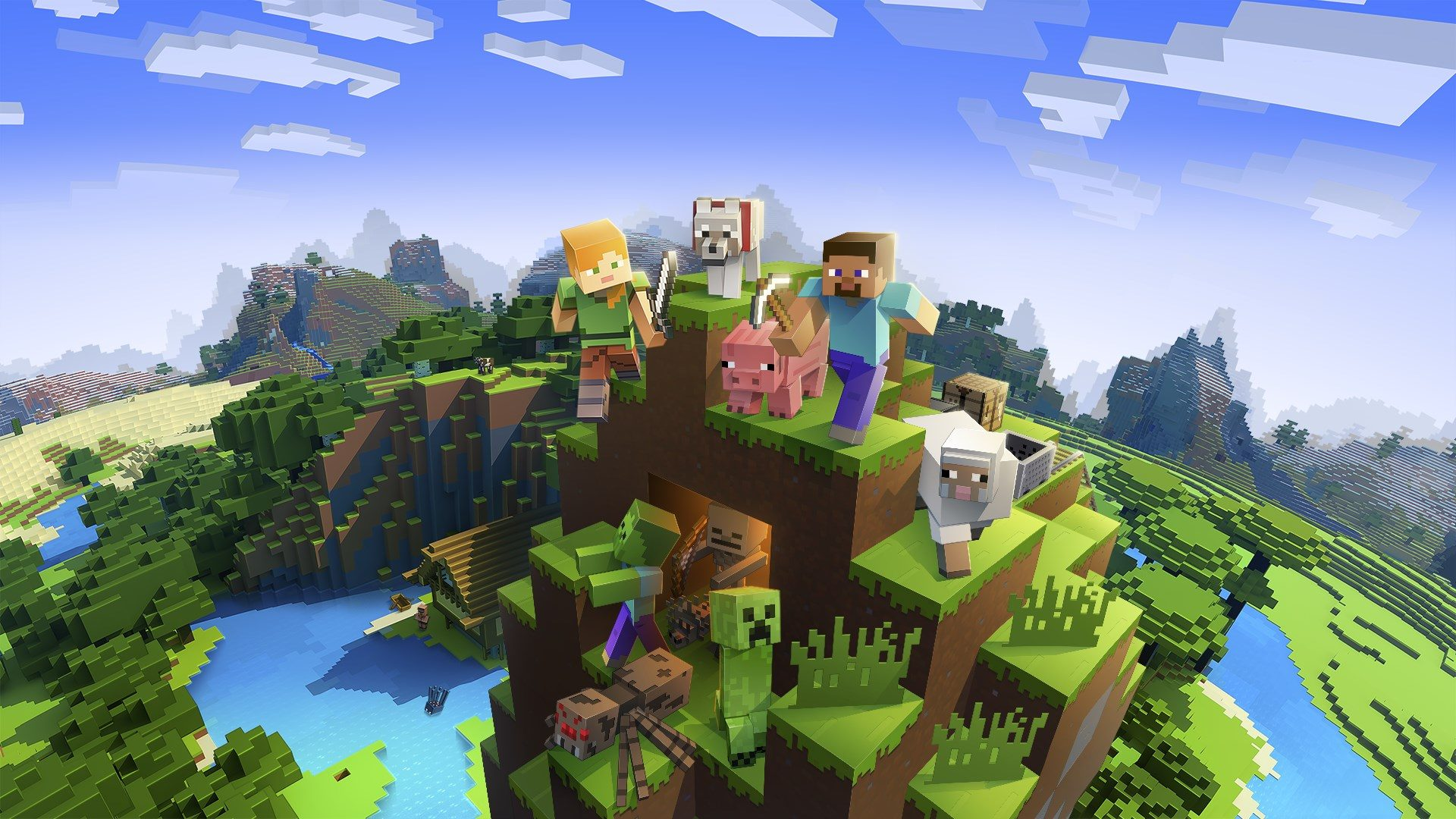 Minecraft adds PS VR support this month – PlayStation.Blog