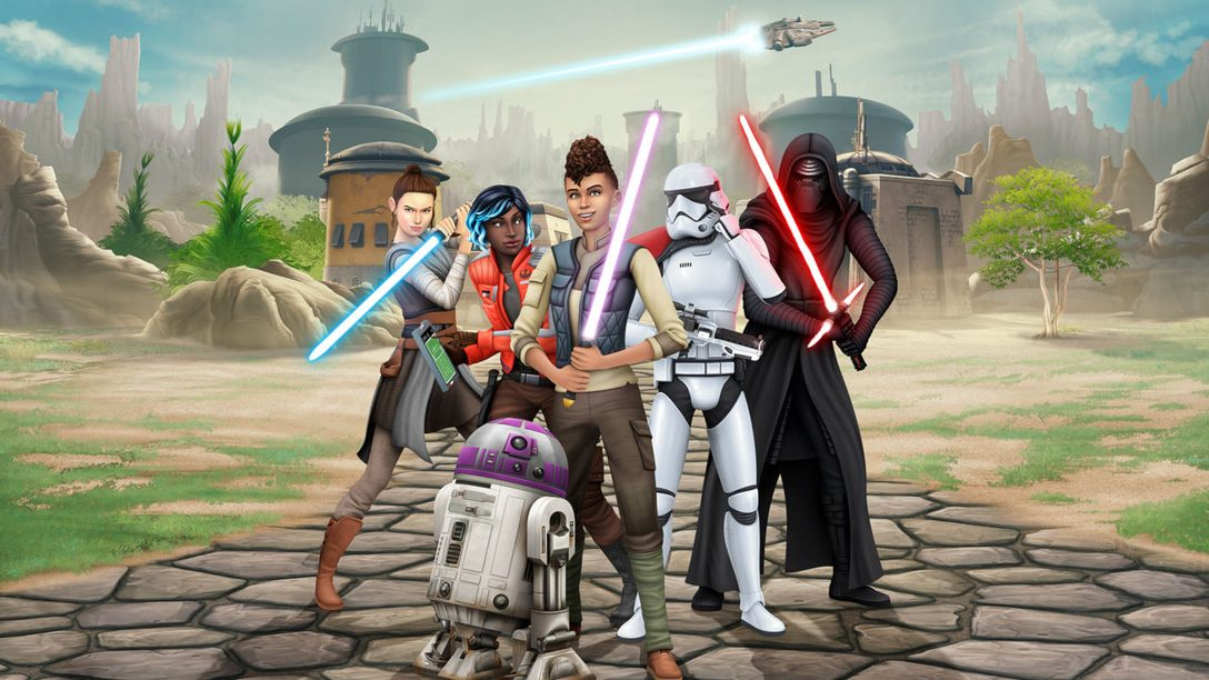 Live out your Star Wars dreams in The Sims 4 Star Wars: Journey to Batuu