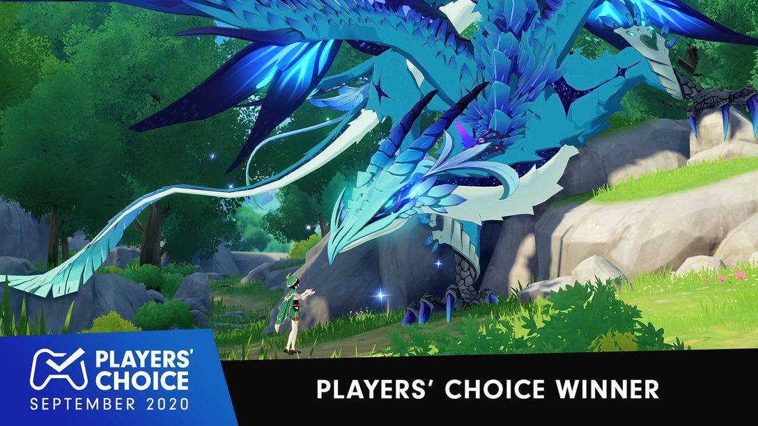 Players' Choice: Genshin Impact voted September's best new game