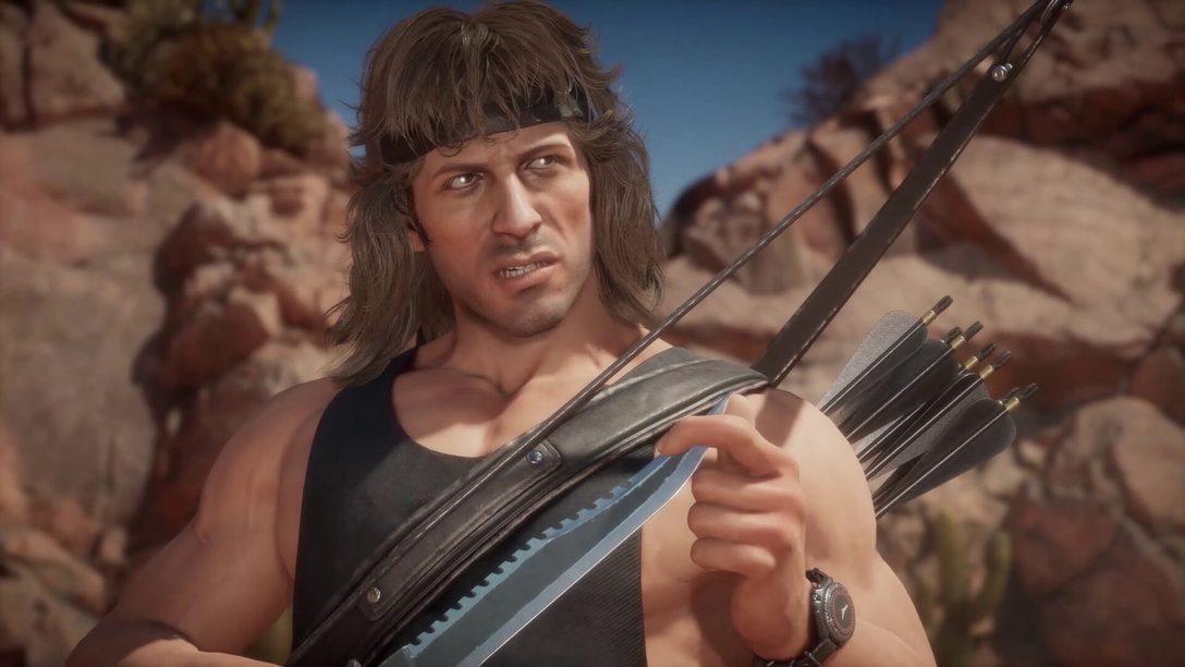 Mortal Kombat 11 Ultimate – Rambo gameplay reveal