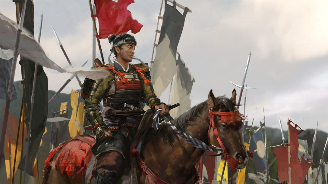 From brush to blade: The concept art process behind Ghost of Tsushima