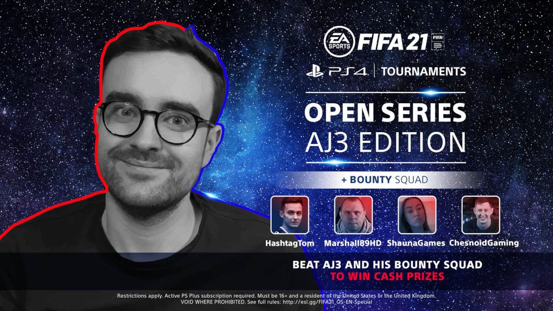 Take on FIFA content creators in the PS4 Tournaments: Open Series