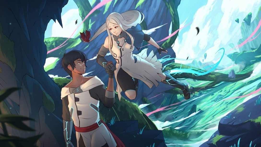 Hold hands alone or with a special someone in Haven, out December 3 on PS5