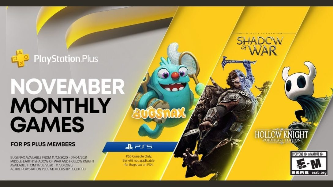 PlayStation Plus Collection details revealed + your November PlayStation Plus games