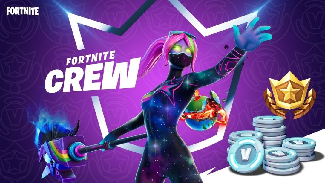 Epic Games announces Fortnite's new monthly subscription Fortnite Crew