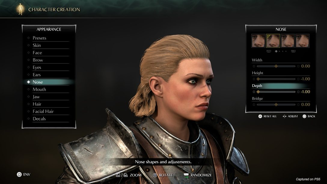 First look: Demon's Souls character creator and Photo Mode