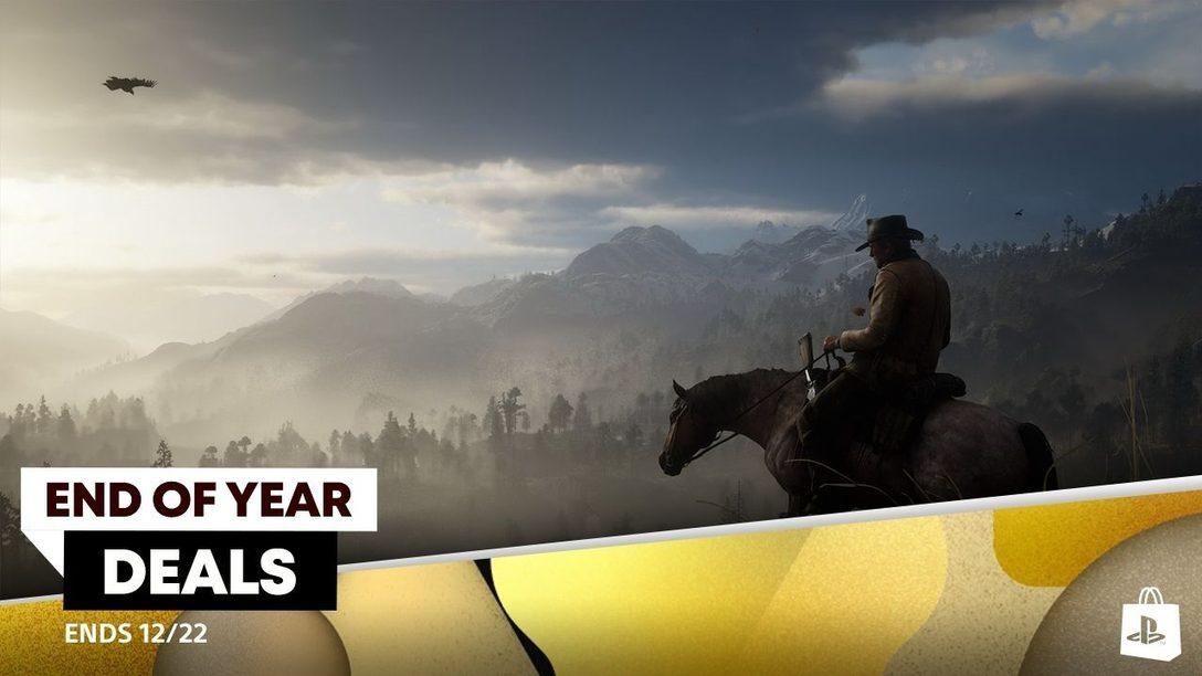 Promo Akhir Tahun PlayStation Store Sekarang Tersedia, Diskon Game Hingga 70%