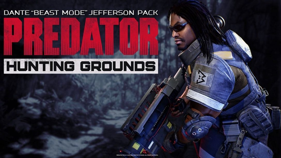 "Marshawn Lynch arrives in Predator: Hunting Grounds as Dante ""Beast Mode"" Jefferson"