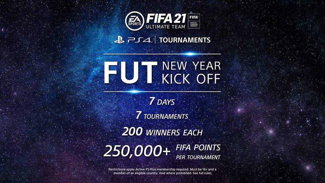 FIFA 21 kicks off the new year with FUT on PS4 Tournaments