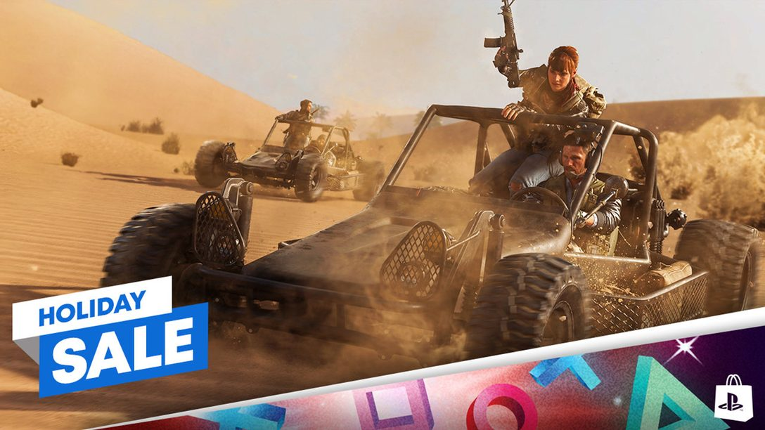 Holiday Sale promotion comes to PlayStation Store