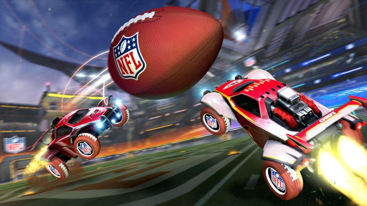 Get ready for the NFL Super Bowl LV celebration in Rocket League 2