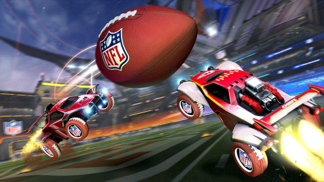 Get ready for the NFL Super Bowl LV celebration in Rocket League