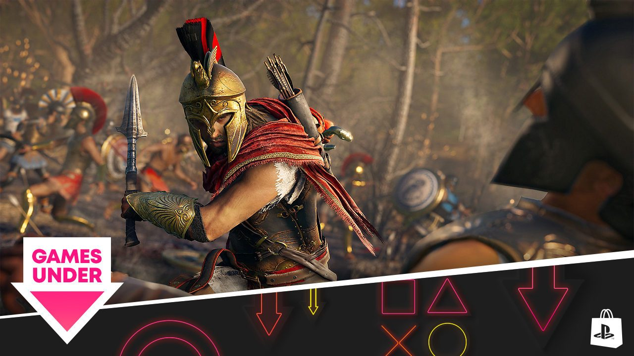 Games Under promotion comes to PlayStation Store