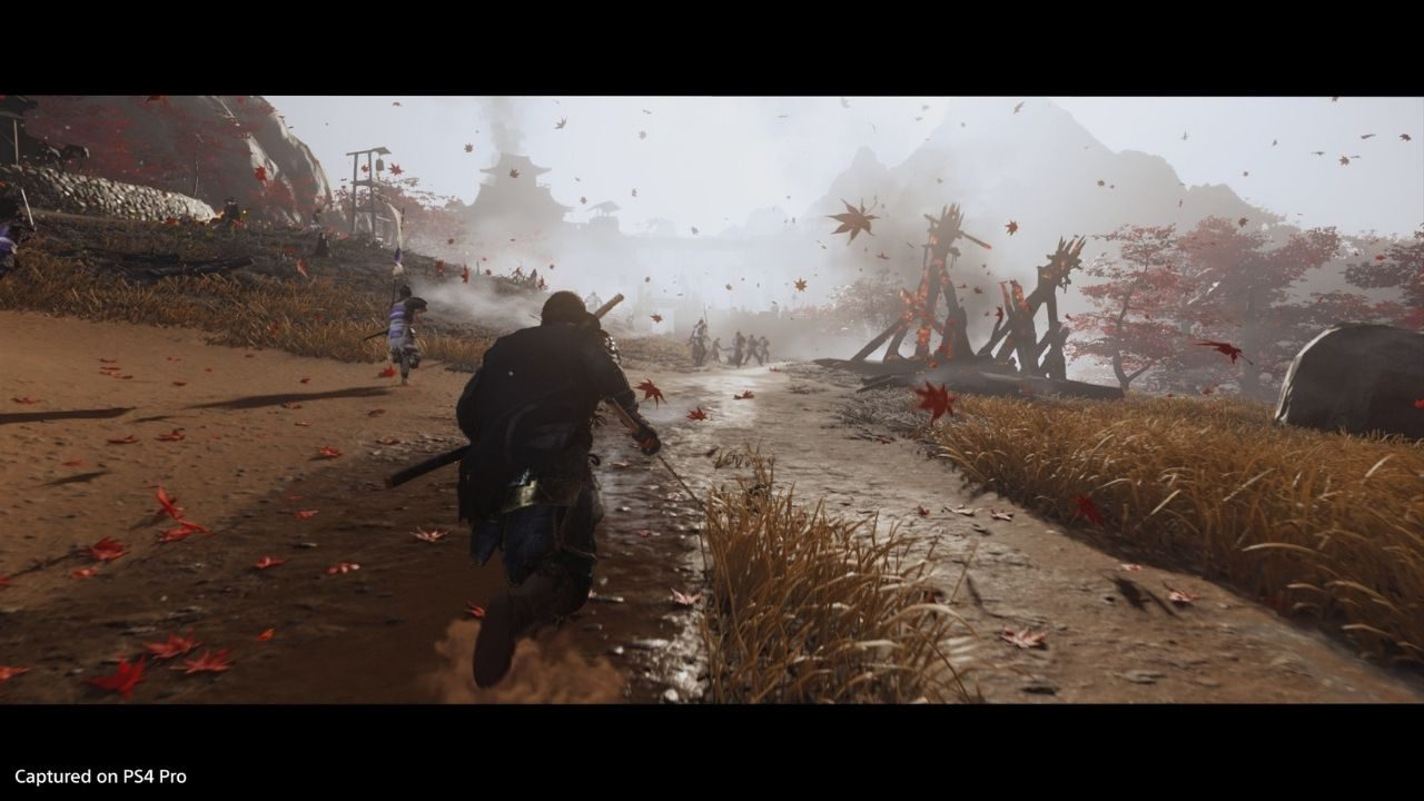 How stunning visual effects bring Ghost of Tsushima to life